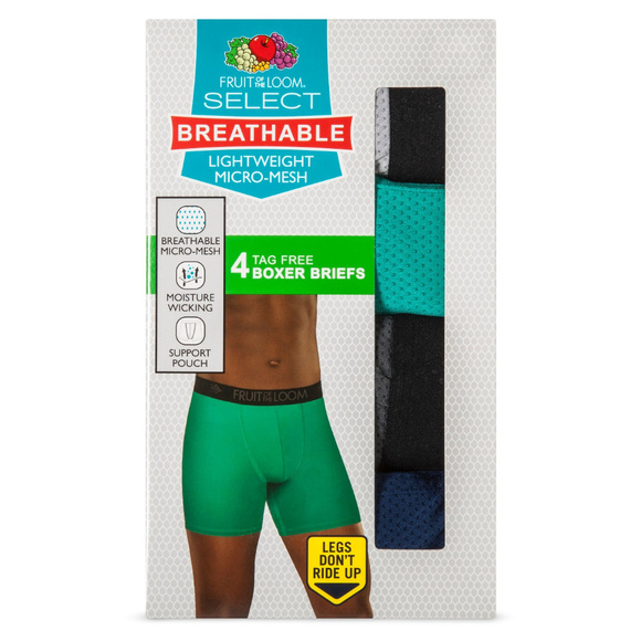 7434d7997fdc Fruit of the Loom Underwear & Socks | New 5pk Breathable Boxer ...